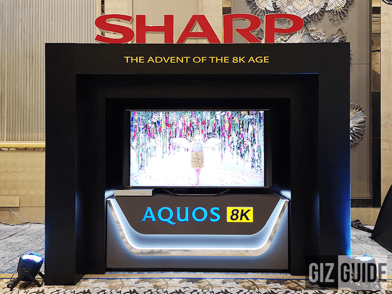 Sharp launches the first AQUOS 8K LED TV in the Philippines!