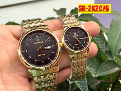 Đồng hồ cặp đôi đẹp nhất SR 2K2C7G