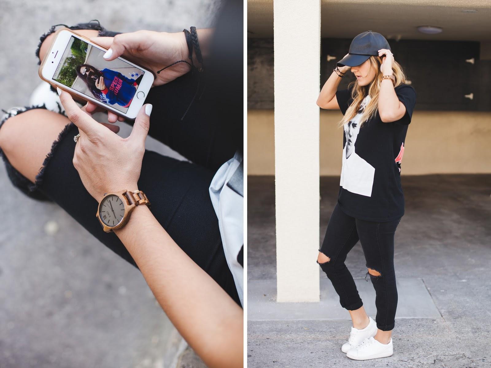 Style Blogger Taylor Winkelmeyer & Jord Wooden Watches