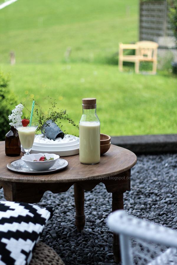 Outdoor Living, Sommer im Garten, Gartenmöbel von Ikea, Draußen wohnen,