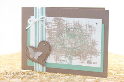 stampin up jahreskatalog 2015-2016, Stampin up incolor 2015-2017, Minzmakrone, Taupe, Stempel-biene, Match the sketch, Stampin Up Katalog 2015 bestellen