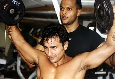 Saif Ali Khan Body Workout