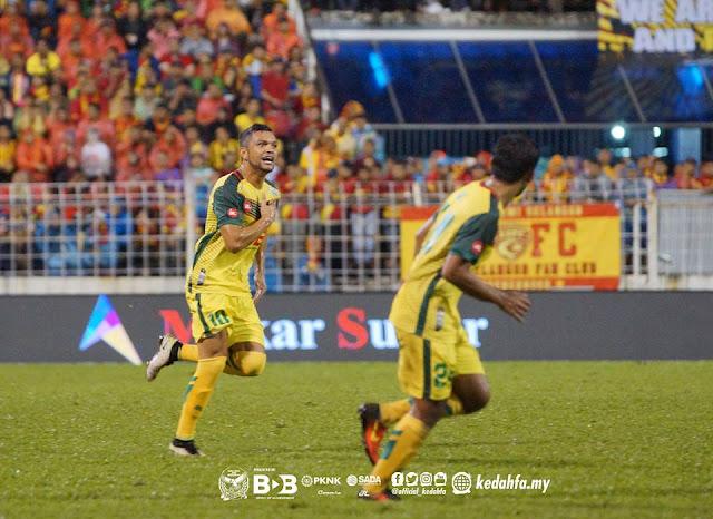 Sandro da Silva menjaringkan gol freekick cantik vs Selangor semalam