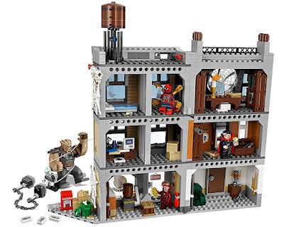 Toys : juguetes - LEGO Super Heroes Los Vengadores | Avengers Infinity War 76108 Duelo en el Sancta Sanctorum  Película Marvel 2018 | Juego de Construcción | Piezas: 1004 | Edad: 8-14 años  COMPRAR ESTE JUGUETE EN AMAZON ESPAÑA