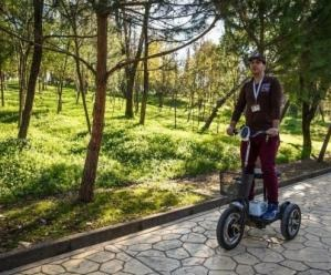 GREEN Projects donates electric vehicles with zero pollution and noise to Tirana