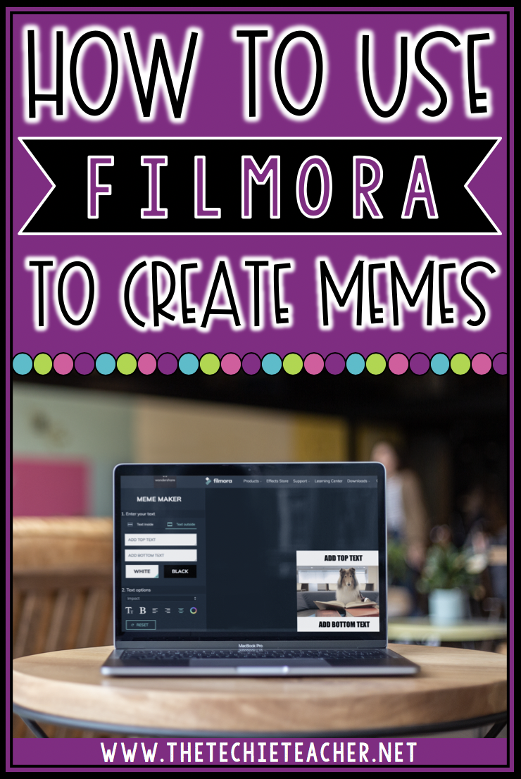 Come learn how you can use the free web tool, Filmora, to create memes. Students love creating memes in the classroom and this post will offer some ideas for educational uses.