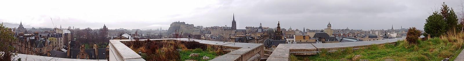 Edinburgh Panoramic, National Museum of Scotland roof views