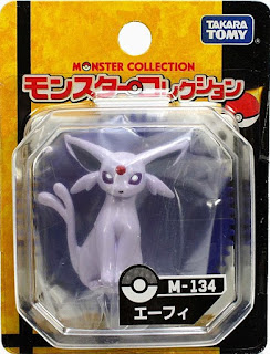 Espeon figure Takara Tomy Monster Collection M series