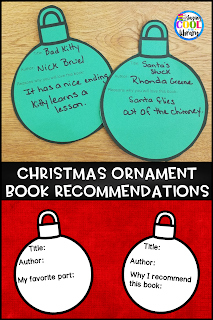 Sample of Christmas ornament book recommendation form