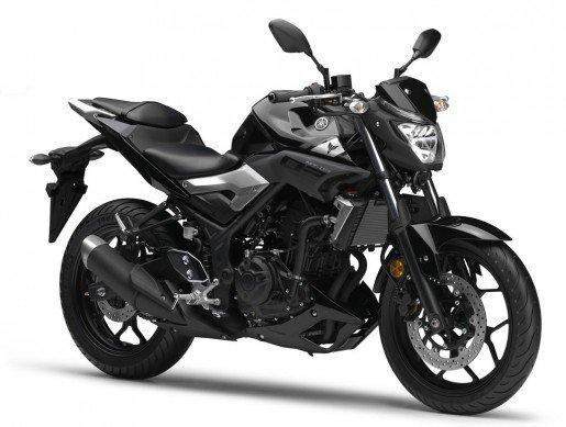 Yamaha MT 03 black