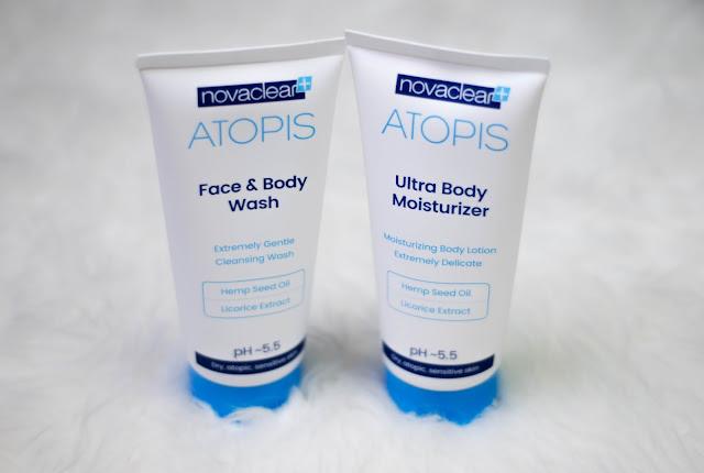Seria Atopis od Novaclear - kosmetyki dla skóry suchej, atopowej i wrażliwej.