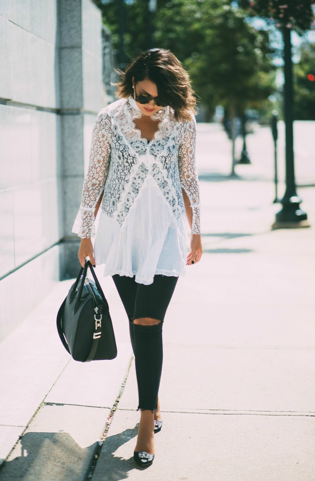 free people lace tunic, manolo blahnik hangisi, givenchy antigona
