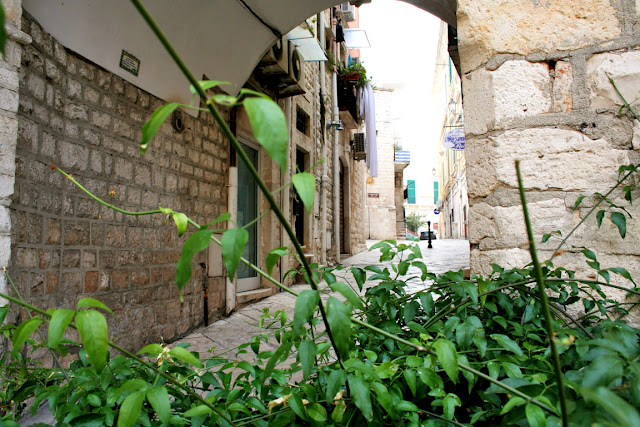 centro storico, via antica, pianta