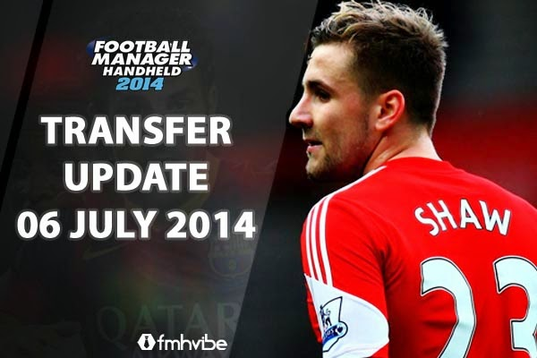 Football Manager Handheld 2014 Transfer Update