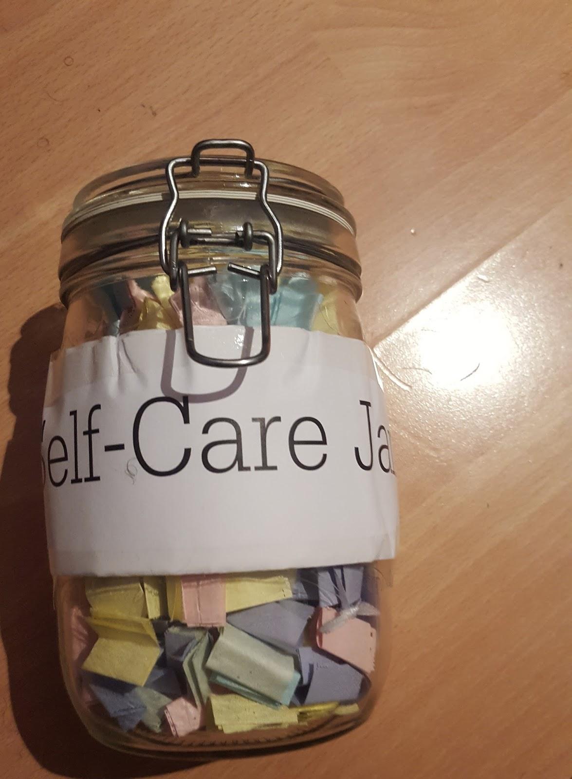 The Self Care Jar