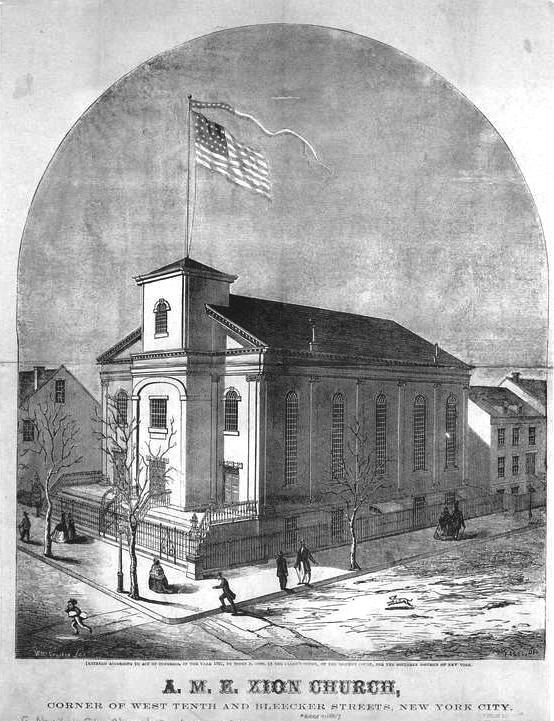James Varick Ame Zion Church 1769