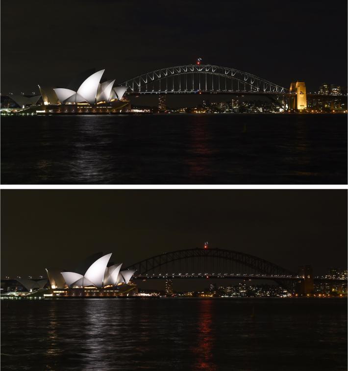 Sydney, Úc. Hình ảnh: William West/AFP/Getty Images.