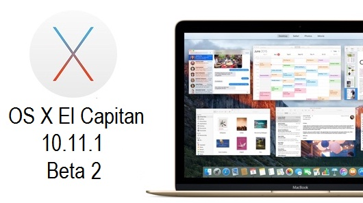 OS X El Capitan 10.11.1 Beta 2