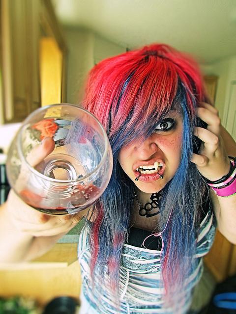 The World Scene Fashion Girl Hair Pink Hair Scene Girl