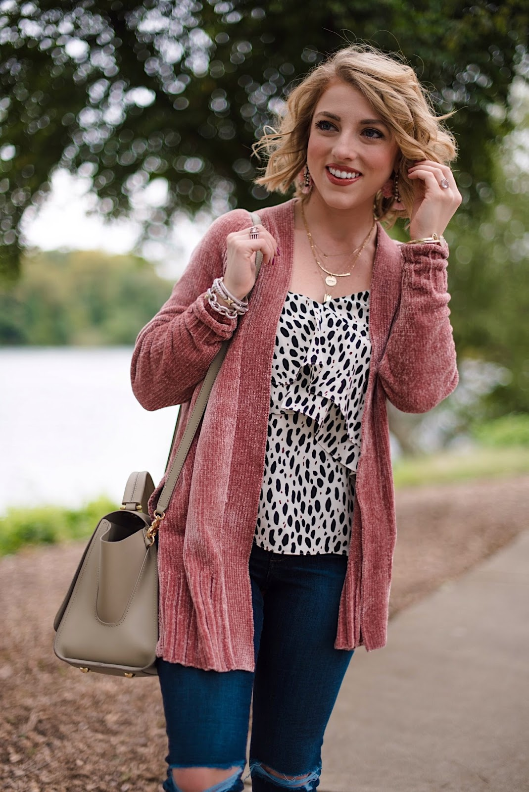 Dusty Rose + Leopard - Something Delightful Blog