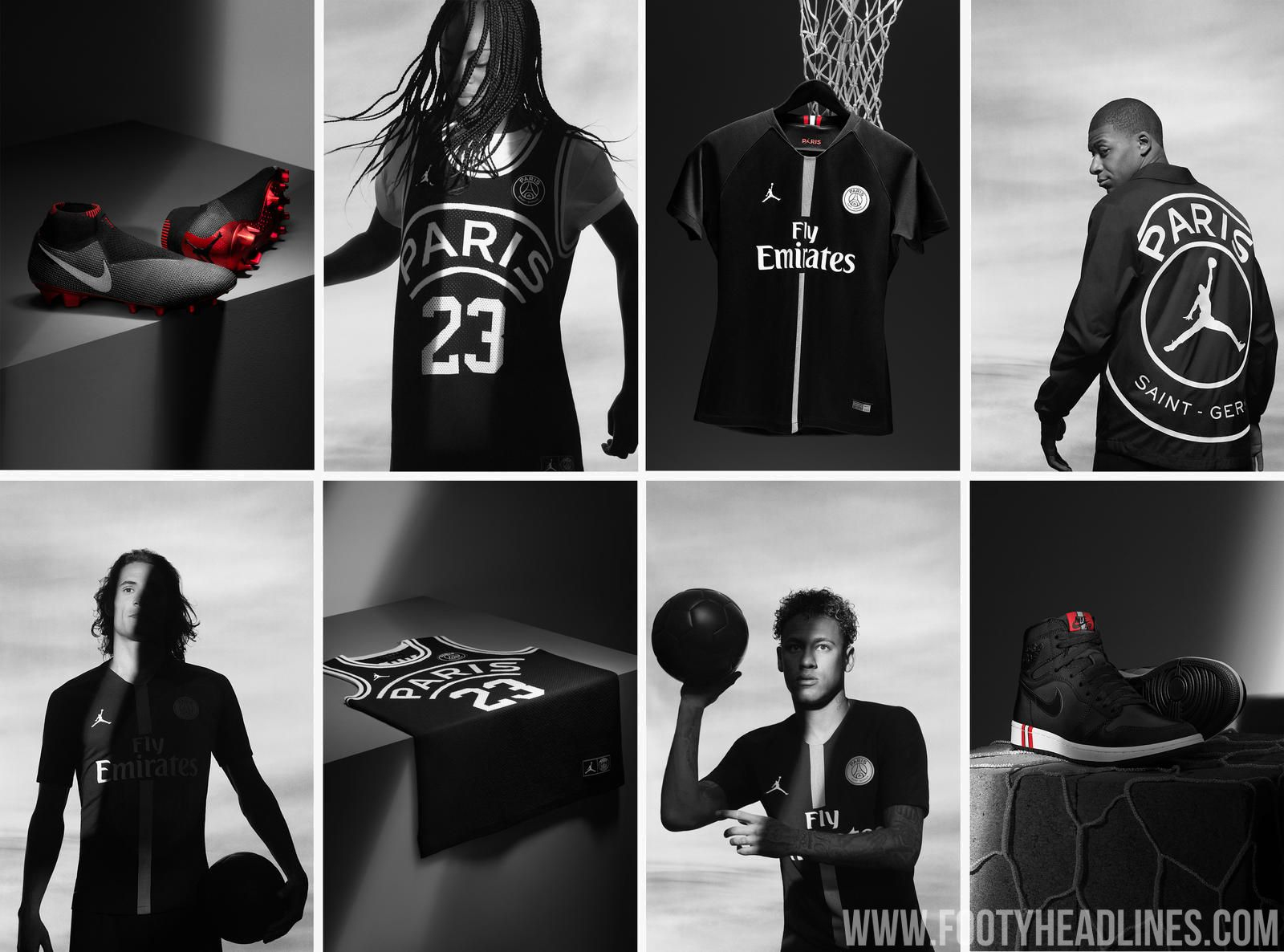 682a397100deae The full PSG Jordan collection was officially unveiled today