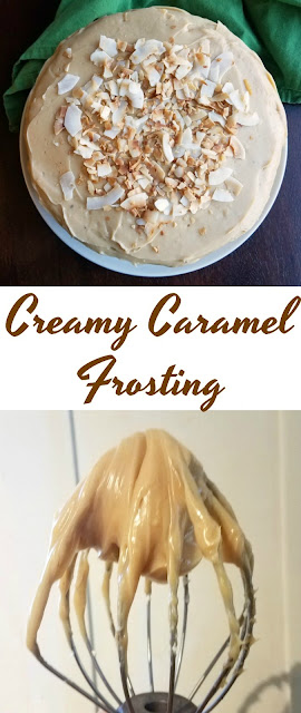 This creamy caramel frosting comes together really easily and starts with a can of sweetened condensed milk to make it extra special. It is a great way to make a caramel frosting for your favorite cakes!