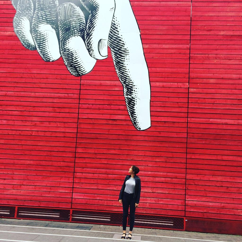 Hand of god artwork