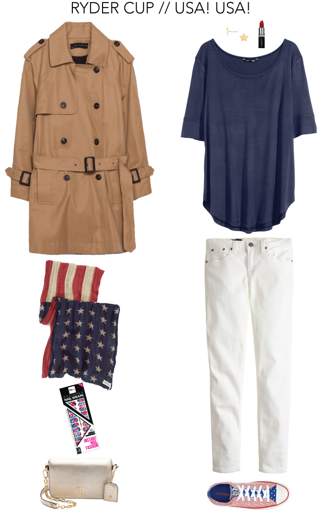 Ryder Cup Fashion - USA! USA! // A Style Caddy