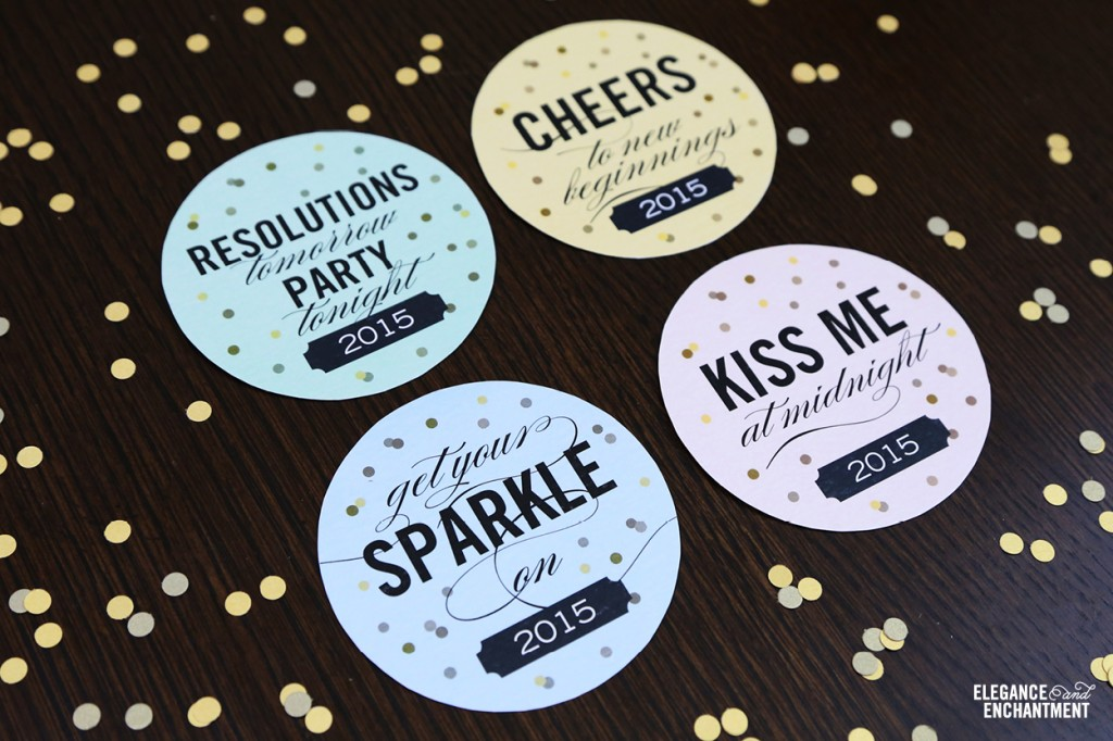 http://www.eleganceandenchantment.com/free-printable-new-years-eve-champagne-bottle-labels/