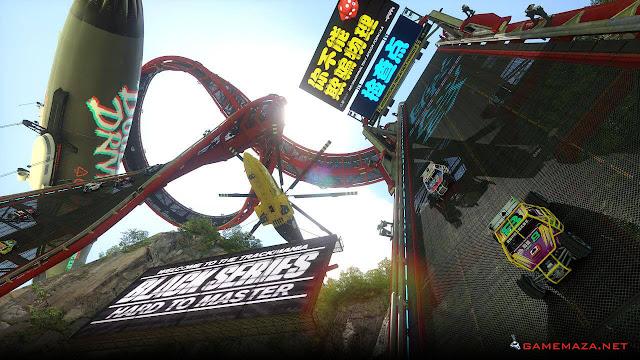 Trackmania Turbo Gameplay Screenshot 1