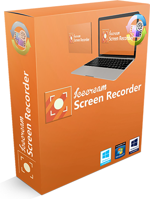 IceCream Screen Recorder Pro 4.33 poster box cover