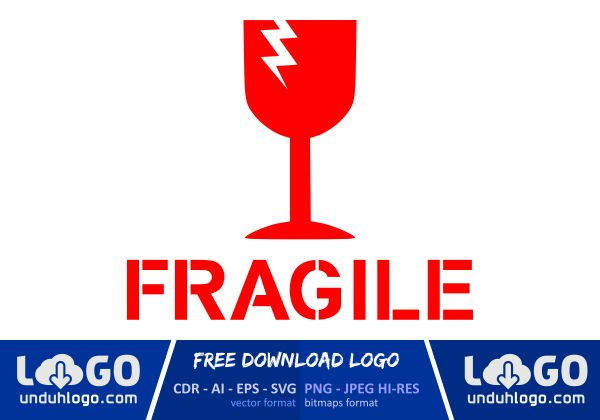 logo fragile download vector cdr ai png logo fragile download vector cdr ai