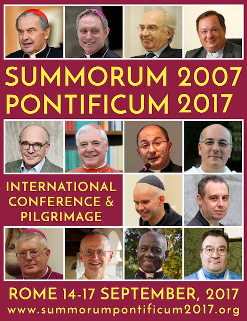 Resultado de imagen de summorum pontificum 2017