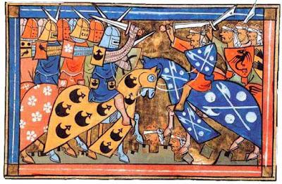 Gambar ilustrasi Pertempuran Perang Salib Kedua