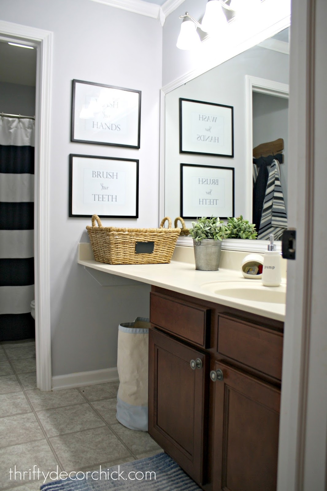 simple bathroom updates
