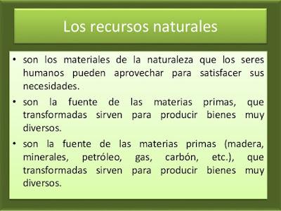 conclusion recursos naturales
