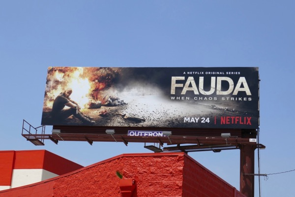 Fauda season 2 billboard