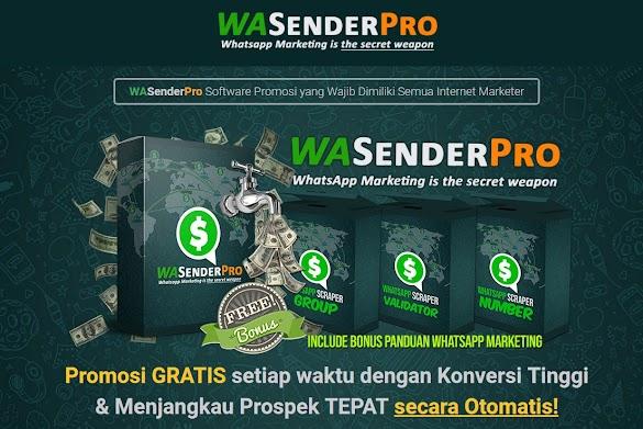 WASenderPro Software Promosi Optimalkan Pemasaran Produk Via WA