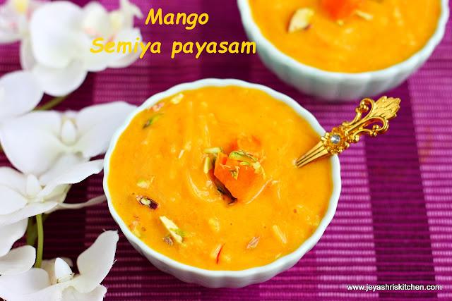 Mango semiya kheer
