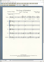 The Song of Habakkuk - V
