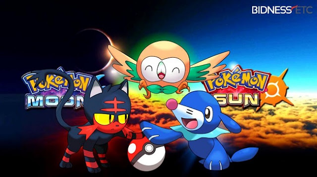 Pokemon Sun and Moon Gameplay