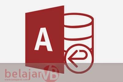 Cara Membuat Database Access (.mdb) dengan Access 2007
