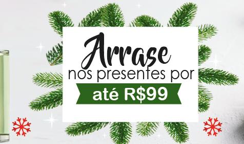 Dicas de presentes para o Natal de até R$99