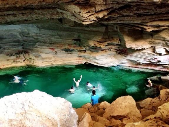 The Challenge Of Al Heet Cave The Pink Tarha