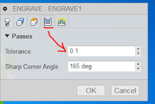 Envisage UK Ltd: Fusion 360 CAM Engraving tool path is very slow