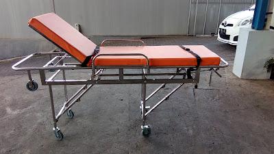 jual brankar pasien emergency dorong rumah sakit murah