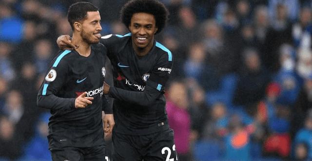 Hazard dan Willian bakal melupakan persahabatan mereka