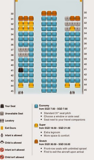 Boeing 787 9 S Economy Cass Seat Map