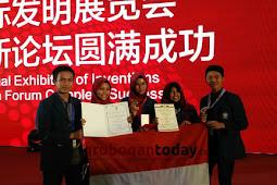 Bersama 4 Temannya, Mahasiswi Asal Grobogan Ini Raih Medali Emas di China