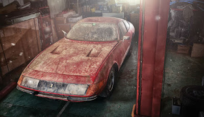 'Terkubur' Selama 40 Tahun, Ferrari Langka Dijual Rp23 Miliar